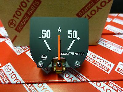 Genuine Toyota Landcruiser FJ40 50A Ammeter Gauge BRAND NEW NOS HJ47 FJ45 BJ42