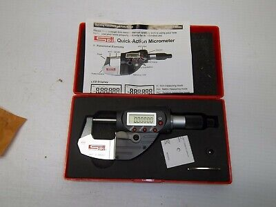 Spi Ip65 0-1 0.00005 Quick-action Electronic Micrometer New China