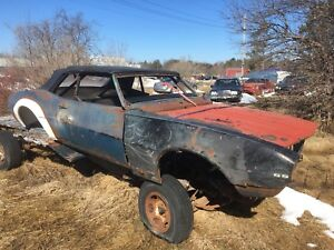 1968 Chevrolet Camaro SS convertable great project