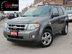 2010 Ford Escape XLT V6 Bluetooth-Sunroof-Chrome Wheels