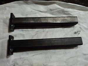 hidden floating shelf brackets made from 1 steel tubing. Black Bedroom Furniture Sets. Home Design Ideas
