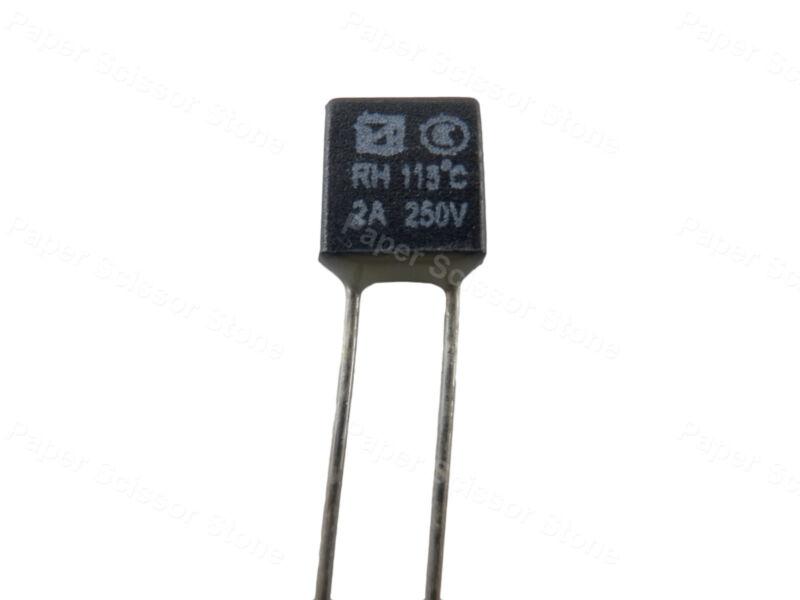 15pcs RH 115℃ 2A 250V Thermal Fuse