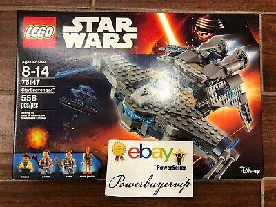 NEW LEGO Star Wars StarScavenger 75147 Star Wars Toy 2 DAY GET