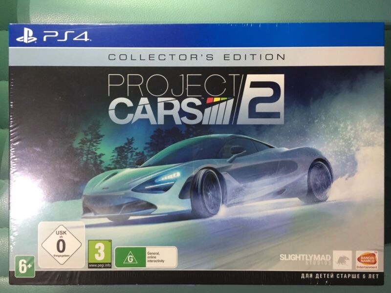 Project CARS 2 Collectoru0027s Edition PS4   BRAND NEW | Video Games | Gumtree  Australia Penrith Area   St Marys | 1175082996