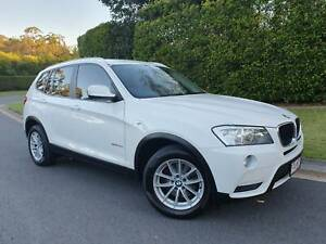 2012 BMW X3 xDRIVE 20d Automatic SUV - SAT NAV - 5 YEAR WARRANTY Sippy Downs Maroochydore Area Preview