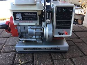 Honda Generators E900. Original FIrst Generator 1970