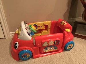 Fisher price baby car
