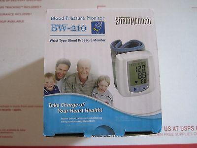 Santamedical Wrist Digital Blood pressure Monitor with Case BW-210 Large Display