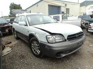 WRECKING / DISMANTLING 2000 SUBARU OUTBACK 2.5L 5 SP MANUAL North St Marys Penrith Area Preview