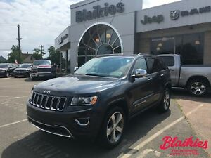 2015 Jeep Grand Cherokee Limited | 4X4 | SUNROOF | BACK UP CAM |