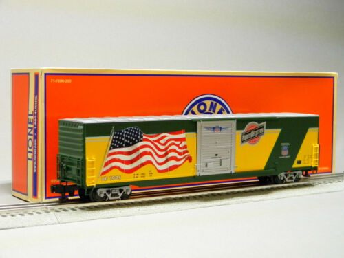 LIONEL CHICAGO NORTH WESTERN FLAG BOXCAR #1995 w/LED O GAUGE freight 6-85402 NEW