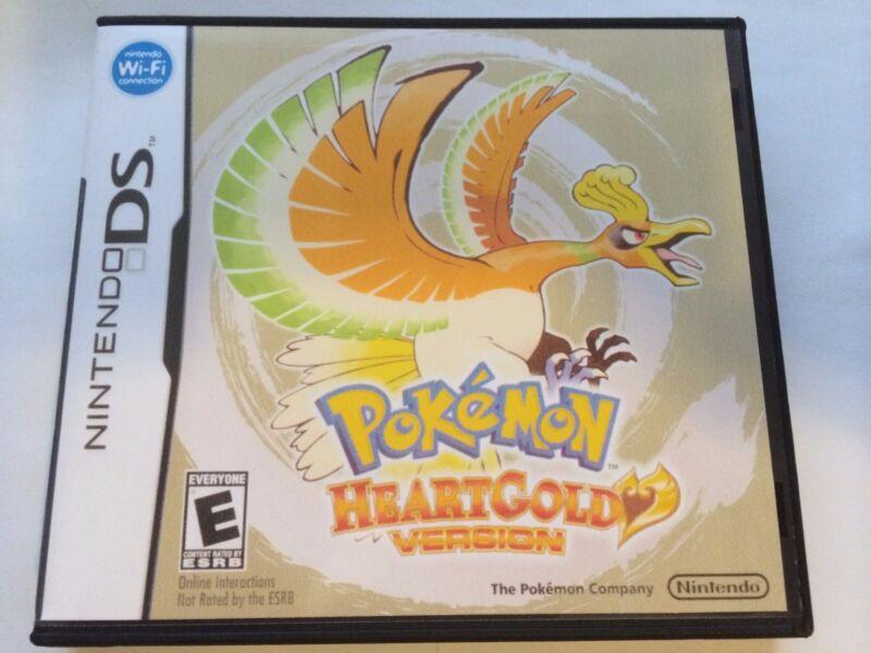 Pokemon Heartgold Version - Nintendo DS - Replacement Case - No Game