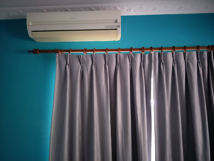 Curtain wooden rods