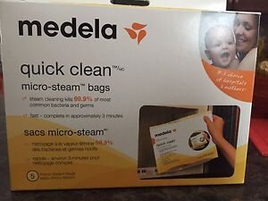 NEW Medela quick clean micro-steam bags