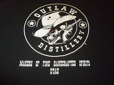 Outlaw Distillery Shirt ( Used Size L ) Nice Condition!!!