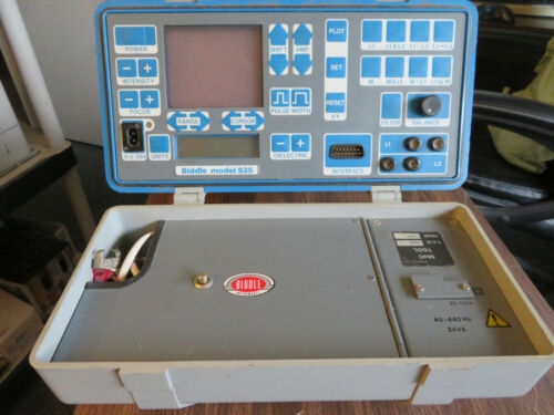 Biddle 535 - Metallic TDR Cable Fault Locator