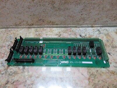 Yang Circuit Board Sml-12-001 Cnc Yang Sml-30 Cnc Lathe