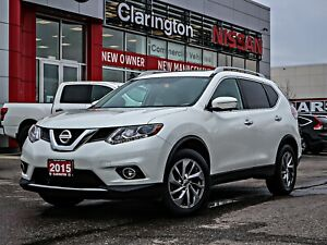 2015 Nissan Rogue SL Advanced Safety Features