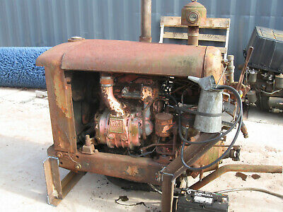 Detroit Diesel 2-71 Engine Allis Chalmers Hd5 Power Unit
