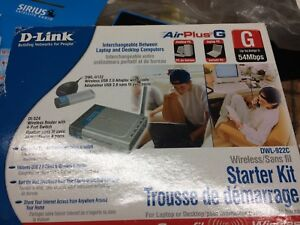 D-Link wireless starter Kit