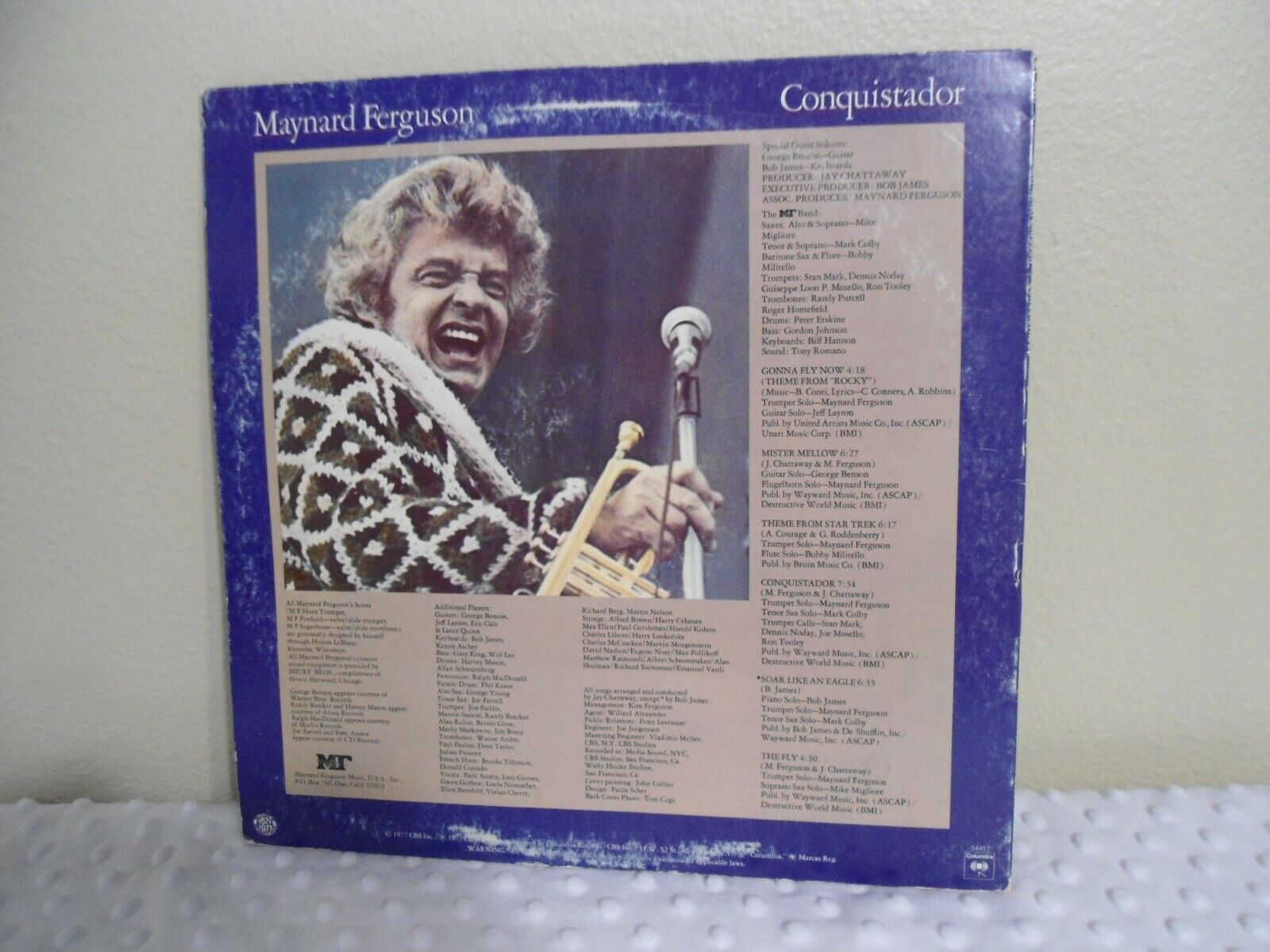 Maynard Ferguson LP Conquistador Very Clean 1977 Jazz Original Gonna Fly Now - $9.99
