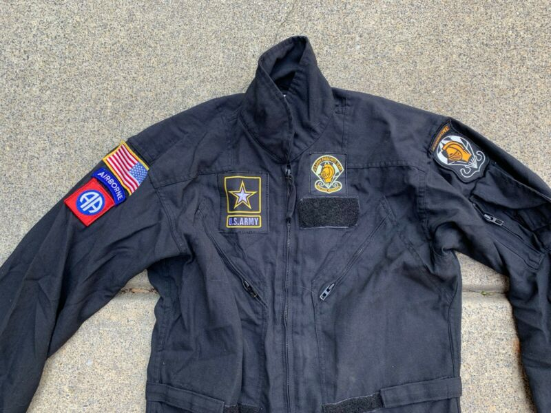 Us Army Golden Knight Nomex Coverall With Patches 82 Airborne Chest 44