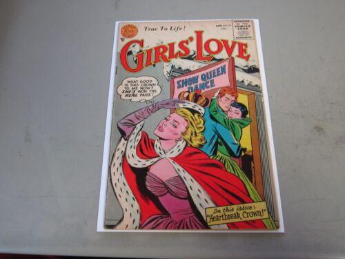 Girls Love Stories #34 Comic Book  1955