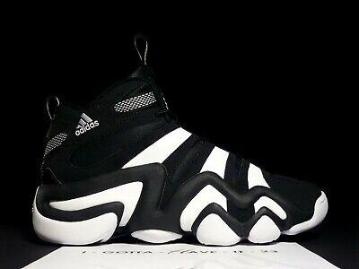 Adidas Crazy 8 Eight Retro Black White Yellow Lakers Size 9.5 G21939 Kobe Bryant