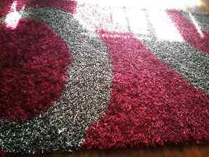 Red and grey swirl rug Cabramatta Fairfield Area Preview