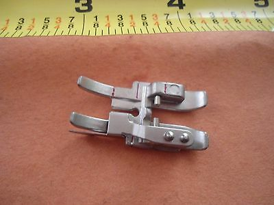 """Pfaff Snap on 1/4"""" Edge Guide foot IDT Walking foot Creative Expression Select.."""
