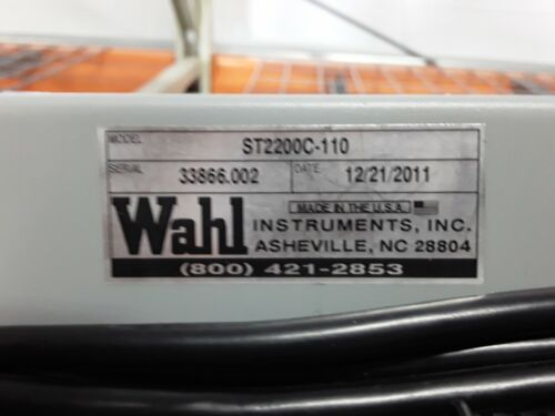 WAHL ST2200C-110 Soldering Iron Tester