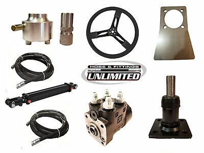 400ML Hydraulic Steering Kit with Steering Wheel
