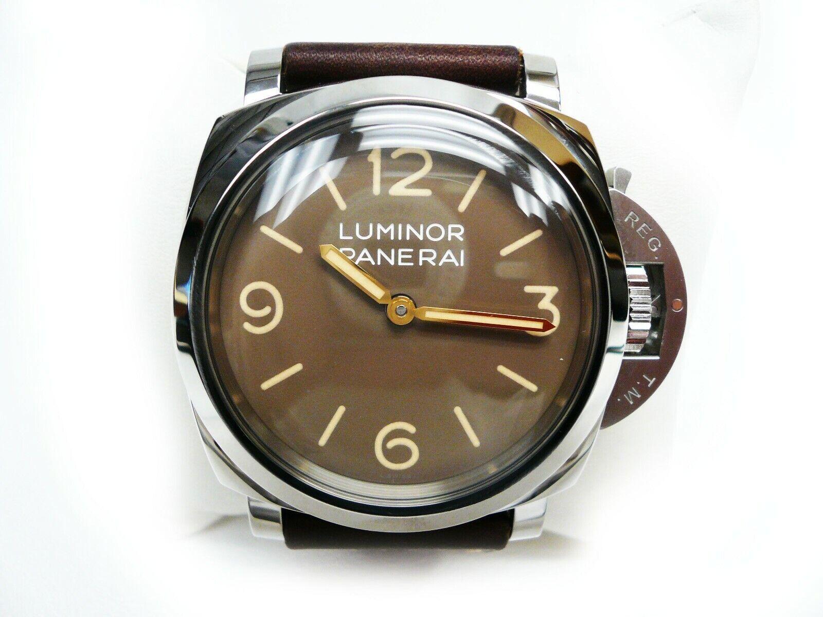 Panerai PAM 663 Luminor 1950 SS Strap Watch Ltd Ed 625/1000 Box Books Cert 6/19 - watch picture 1