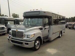 2013 International 3000 22 Passenger Bus Diesel with Wheelchair