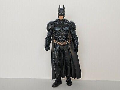 "BATMAN Dark Knight DC Comics 6"" Action Figure w/ Cape Black Costume Mattel"