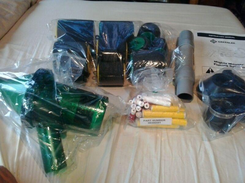 GREENLEE 592 Blowgun Kit Mighty Mouser greenlee 592 fish tape blowgun kit