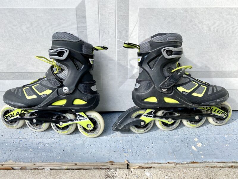 RollerBlade MacroBlade 90 M90 US Men's Size 11 90mm Wheels Inline Skates Green