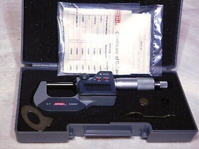 Spi Electronic Outside Micrometer 0-1 Range 0.00005 Resolution 12-047-7
