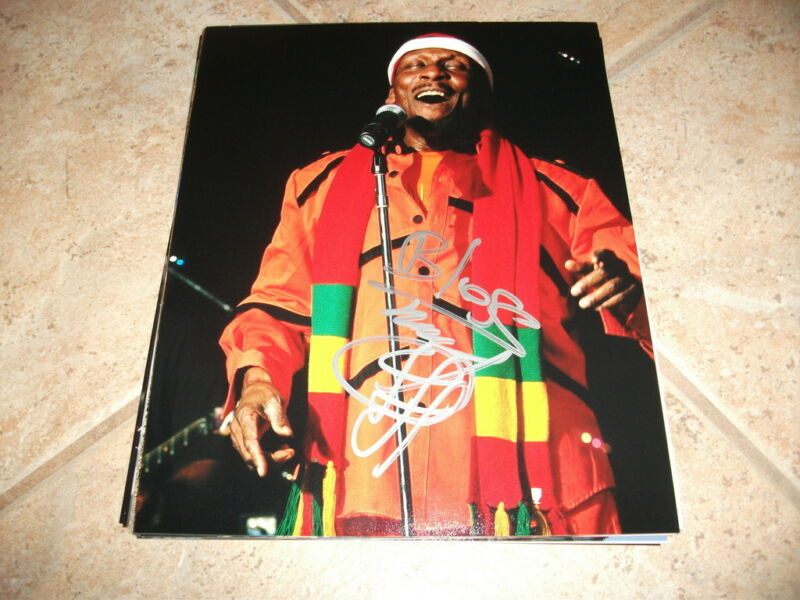 Jimmy Cliff  Signed Autographed 8x10 Live Concert Music Photo Raggae