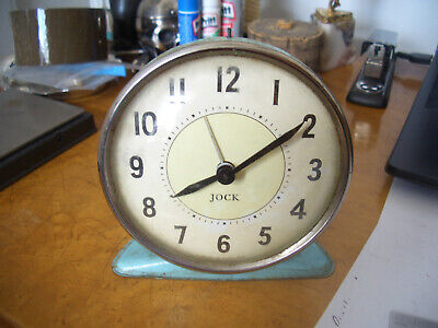 RETRO VINTAGE BEDSIDE  ALARM CLOCK QUALITY  CIRCA 1950s fresh to market find