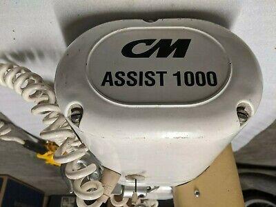 Cm Assist 1000 12 Ton 1000lb Electric Chain Hoist Columbus Mckinnon 16 Fpm