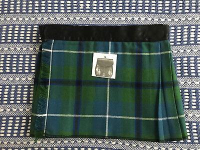 Douglas Green Baby Kilt 4-12 month Scottish Plaid Tartan Christening Outfit? ()