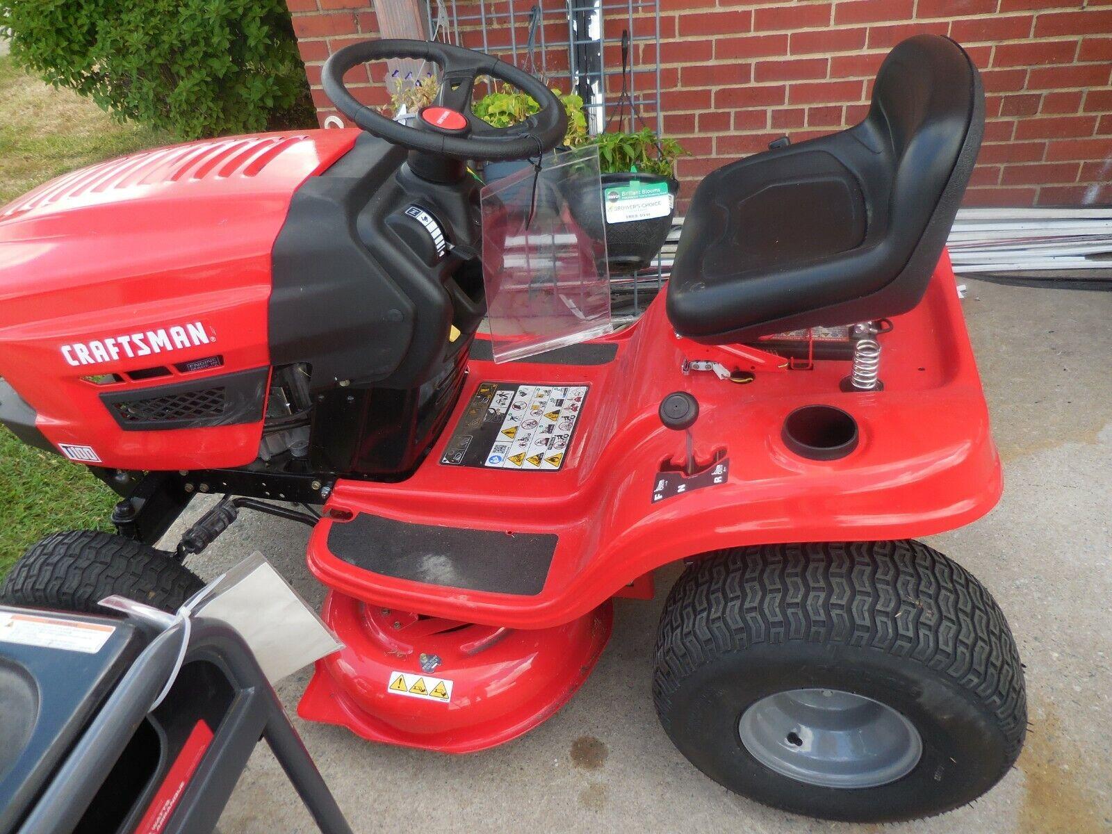 Craftsman T100 36-in Riding Lawn Mower CMXGRAM201302