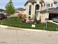 GRASS INSTALL • AFFORDABLE • RETAINING WALLS• PATIOS