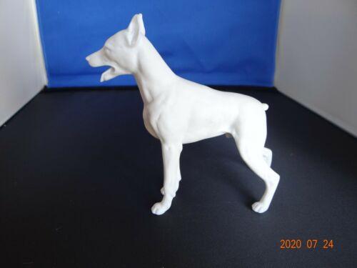 Rare Kaiser Bisque Porcelain Doberman Pinscher Figurine