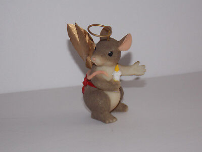 """CHARMING TAILS F&F Mouse Figurine - """"Angel of Light"""""""