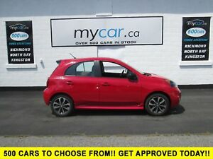 2015 Nissan Micra SR BACK UP CAM, BLUETOOTH, ALLOYS!!!