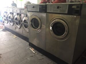 6 commercial washers!