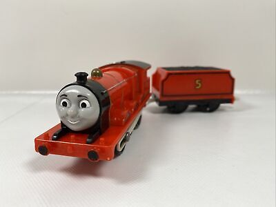 Thomas & Friends James train w/Coal Tender & Troublesome Truck FREE SHIPPING!
