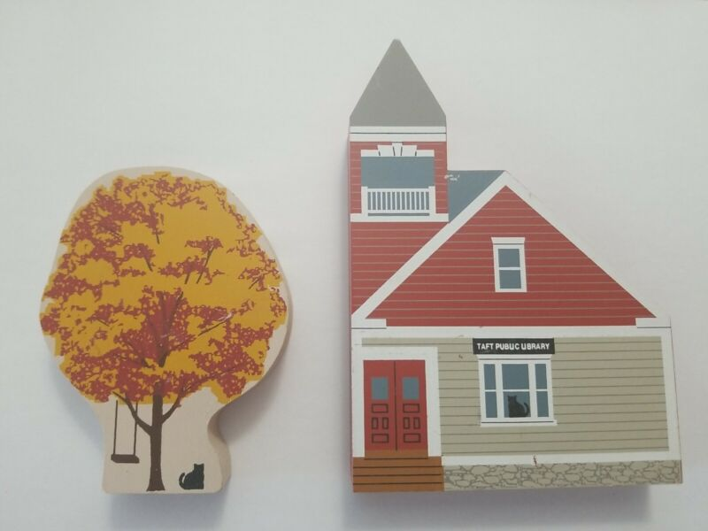 Cats Meow Taft Public Library Faline 1994 Mother Town Series Mendon MA Fall Tree